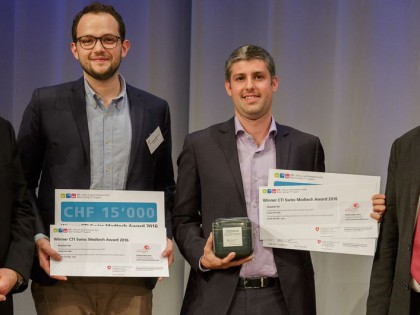 Swiss Medtech Day: Start-ups collect the prizes