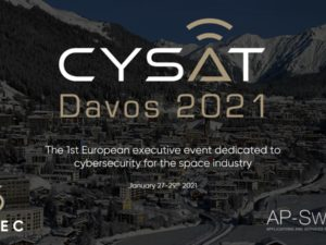 CYSAT'21, the first European event dedicated to cybersecurity for satellites in Davos, Switzerland