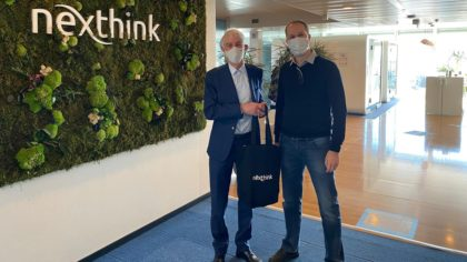 EPFL spin-off Nexthink becomes the new Swiss unicorn