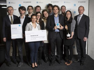 Nanolive won the Pionierpreis awarded by Technopark Zurich and ZKB