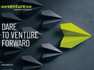 >>venture>>, Switzerland's leading startup competition