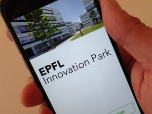 A private mobile application for the EPFL Innovation Park community