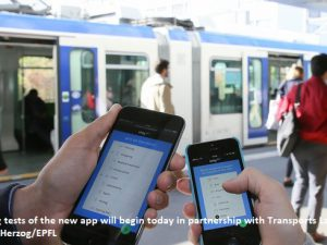 An app for rating public transport in real time