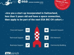 Ready for takeoff? ESA BIC Switzerland is accepting new applications