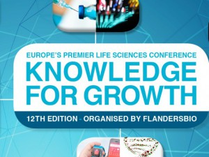Genohm at the 12th Edition of Knowledge for Growth in Ghent